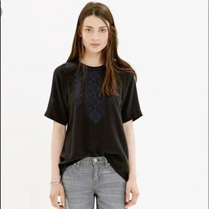Madewell Silk Fortune Top